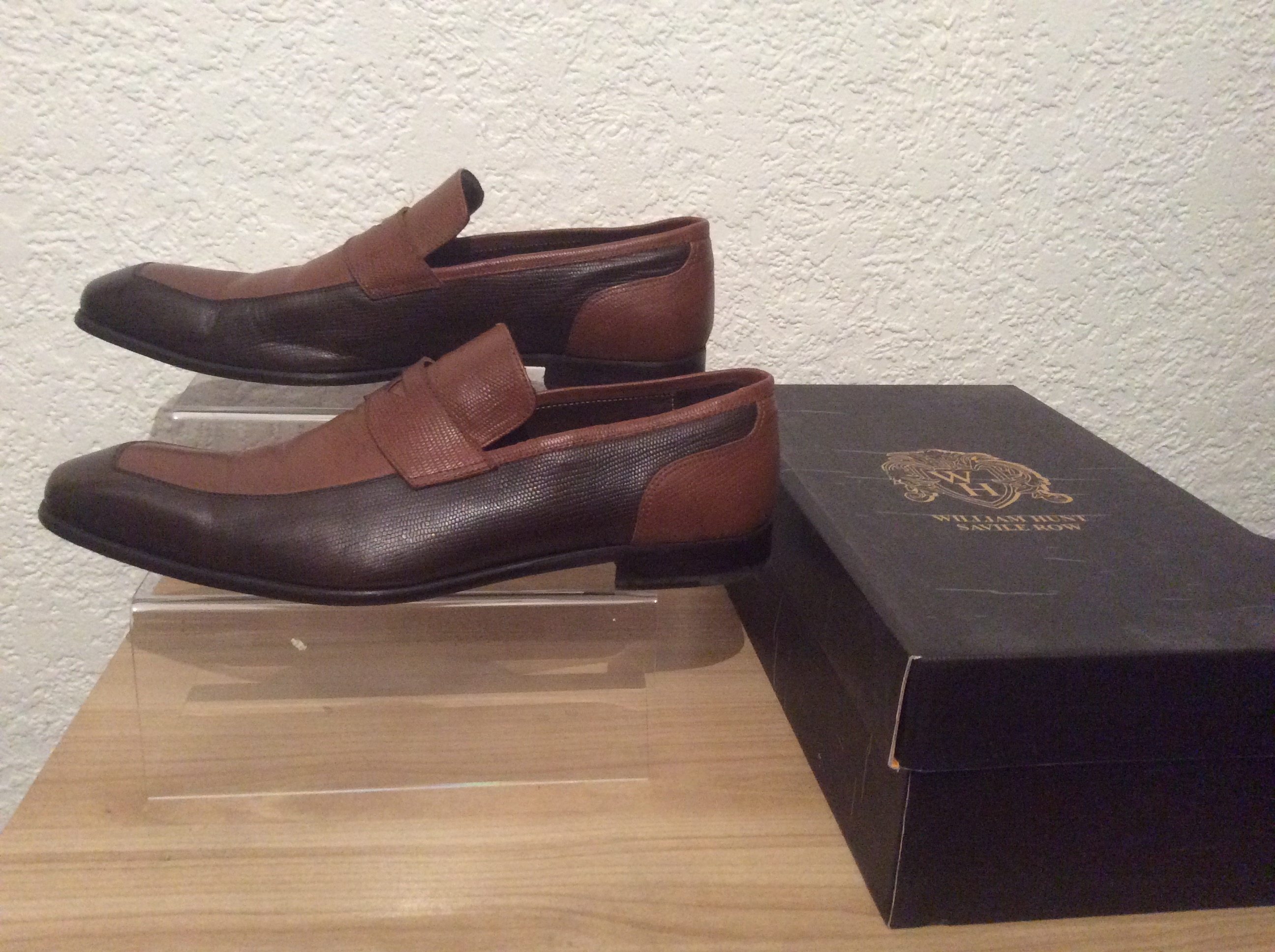 second hand william hunt loafers